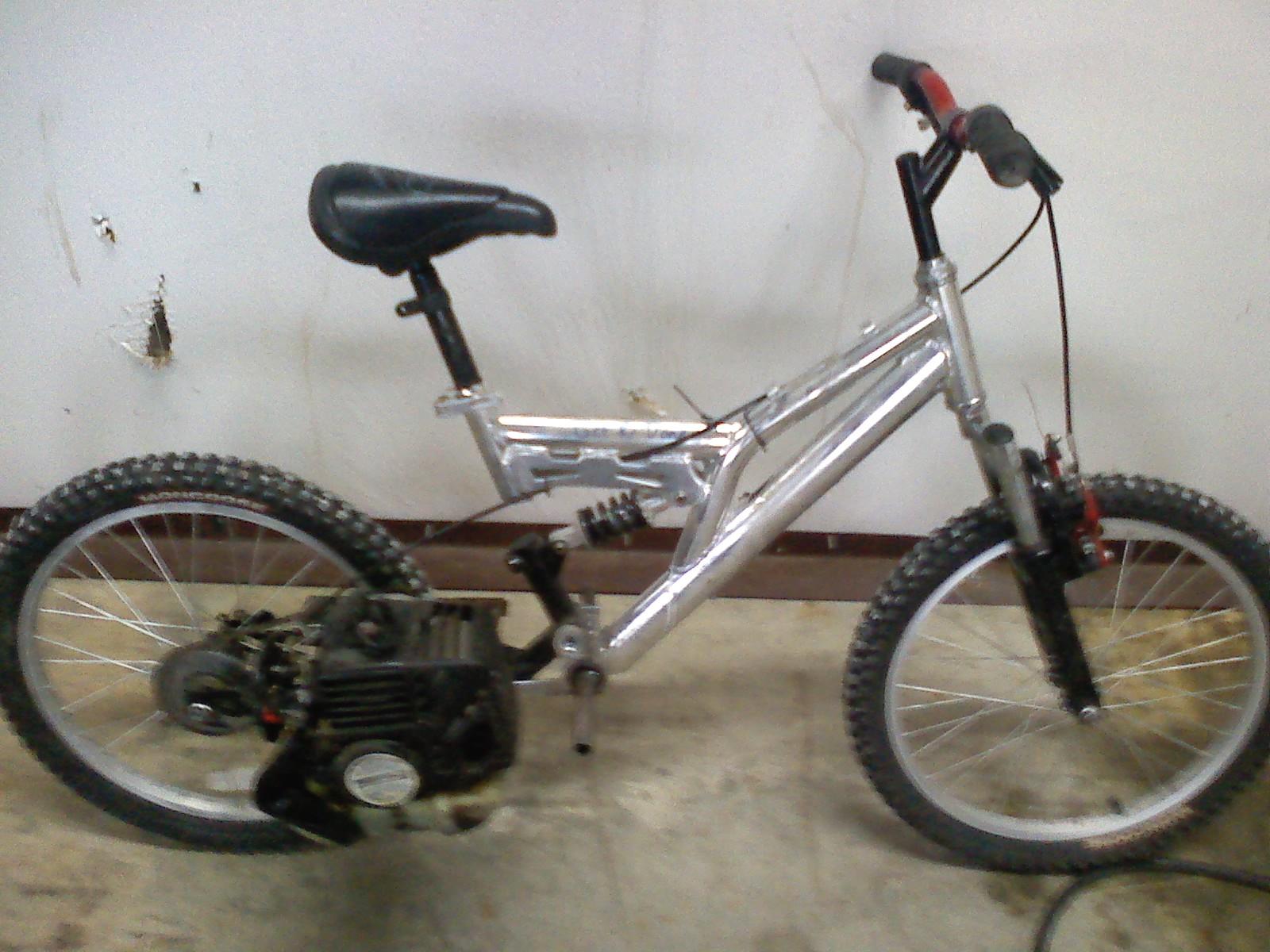 Motorized Moutainbike