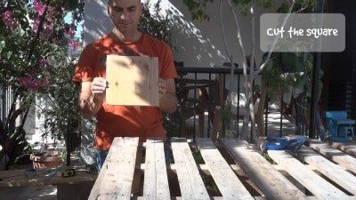 HOW TO MAKE 4 WOODEN BASES