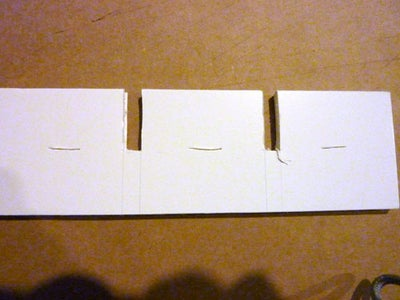 Cut Slits in the Grid Pieces