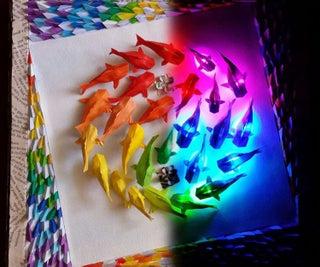 Wall of Rainbow Koi: Version 2.0
