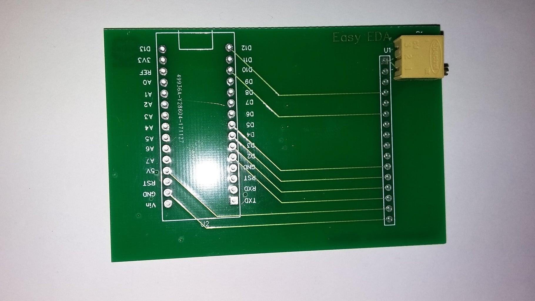 Installing the 10 K Potentiometer