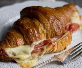How to Make the Ultimate Croissant Sandwich