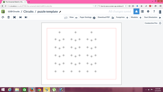 Creating a Repeating Pad Pattern in Circuitscribe 123D