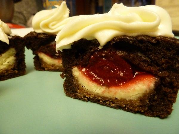Cheesecake in a Cupcake (aka, Flavor Bomb)
