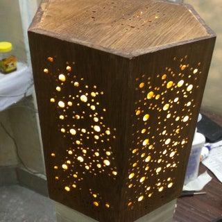 Making an LED Night Light W/ Star Pattern