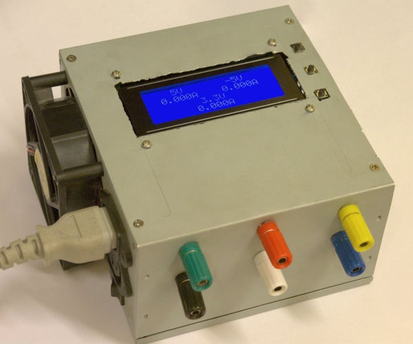 Convert an ATX PSU Into a Bench PSU That Measures Current
