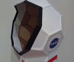 Low Cost Astronaut Helmet