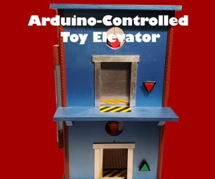 Arduino-Controlled Model Elevator