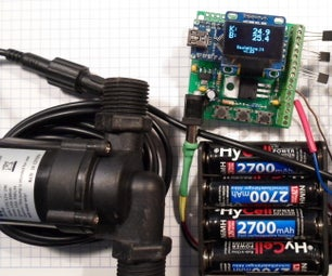 Hot Water Solar Collector Controller With Thermostat V1.23