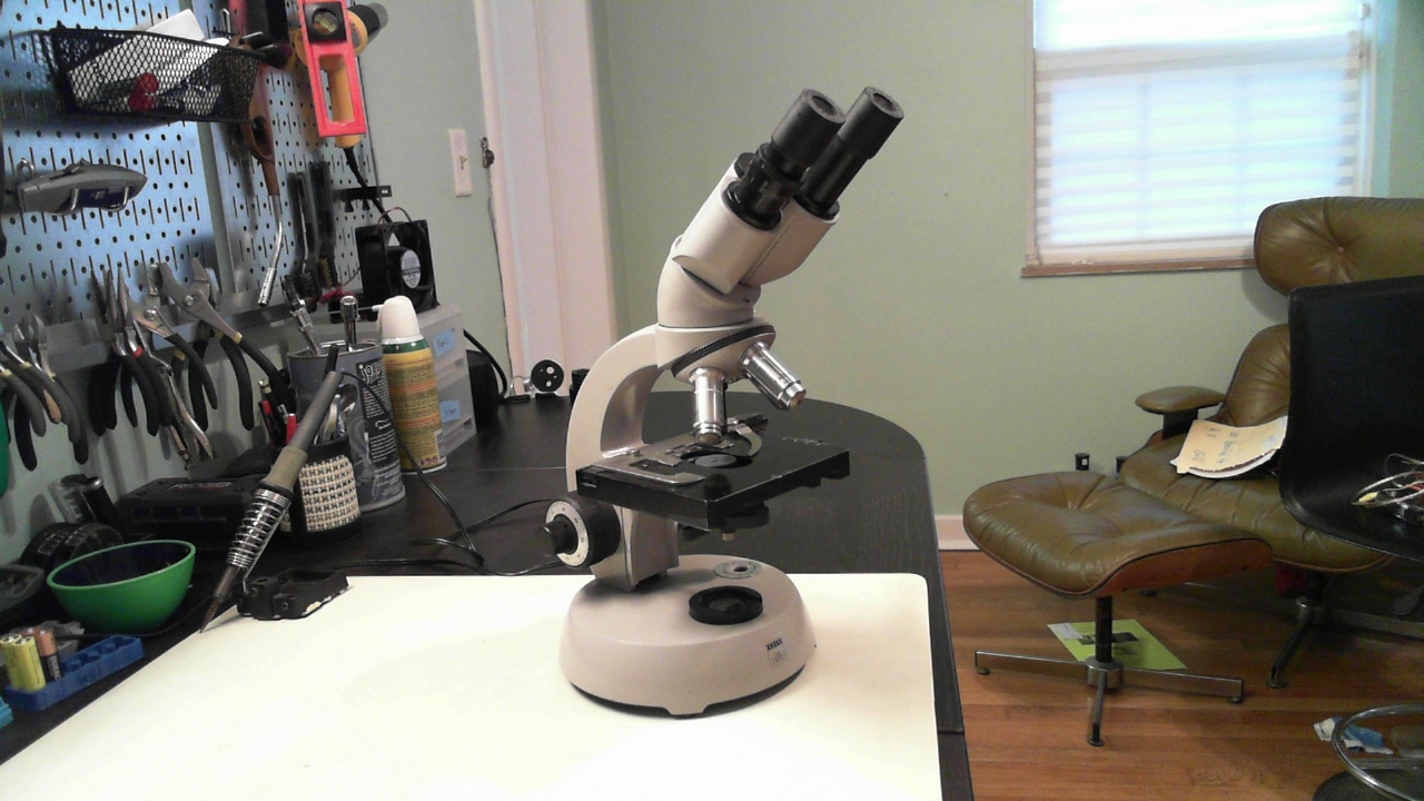 How to Restore, Improve, and Digitize an old microscope