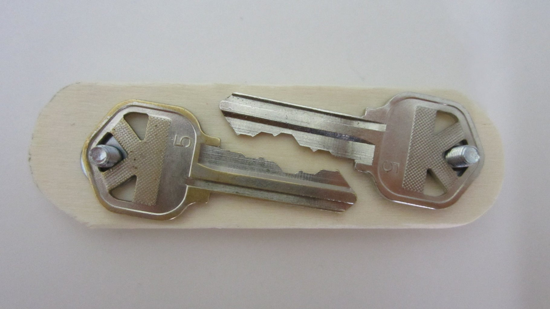Swiss Army Key Ring