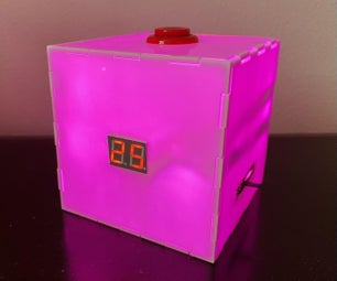 Multicolored Light-Up Countdown Timer for Studying