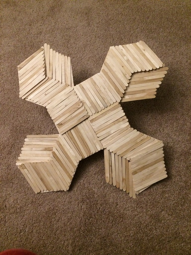 Create Wood Surface and Paint