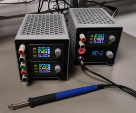 Modular DPS3003/5 PSU and T12 Soldering Station
