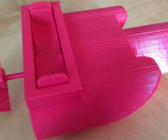 3D Printed Motorized Boat