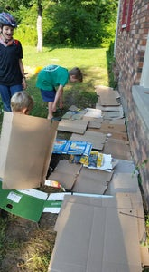Disassemble Boxes and Lay Them Out