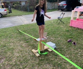 Slackline Without Trees for Kids