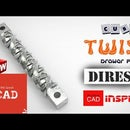 SolidWorks Tutorial | Modeling a Cube Twist Drawer Pull in SolidWorks | DiResta's Inspired