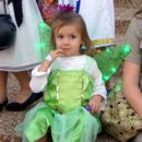Tinkerbell costume with light-up wings for toddler
