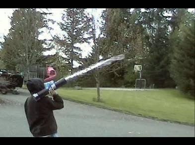 Vinegar Bazooka