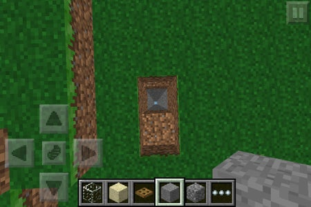 Dig One Block Deep Next to the Deep Hole