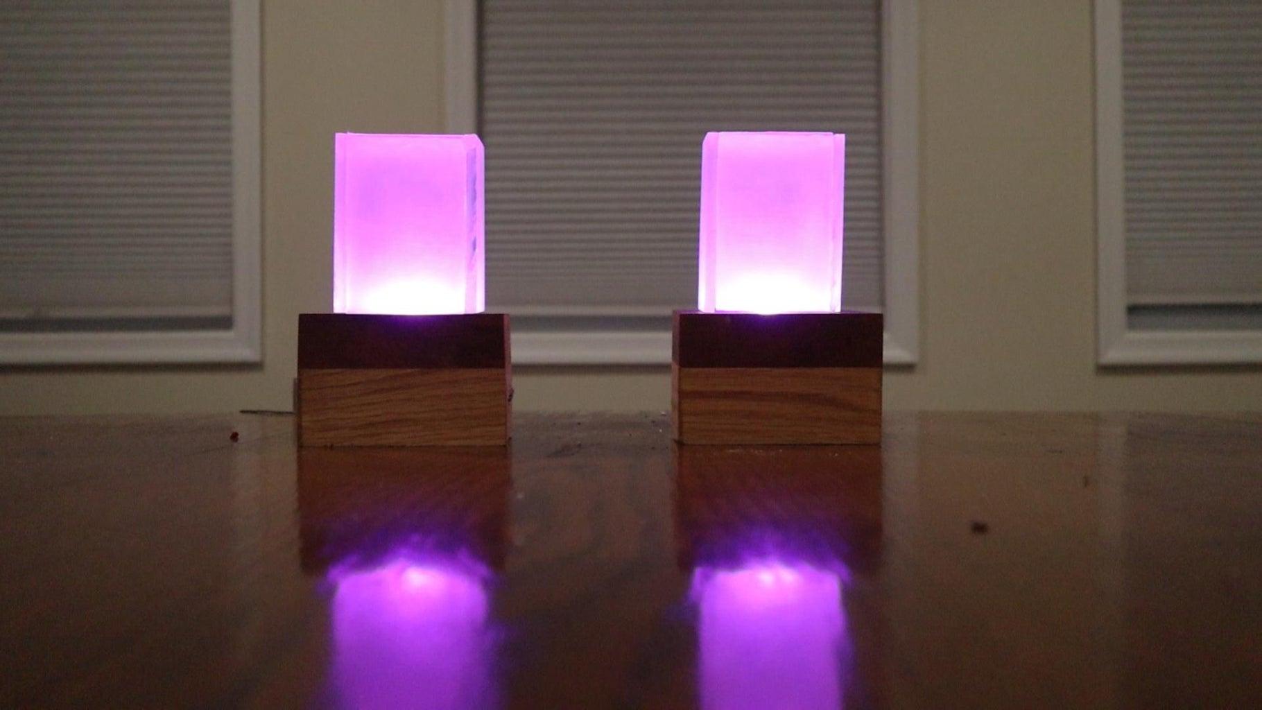DIY Long Distance Best Friend Lights