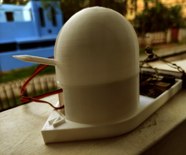 [3D Printed] Real-time Satellite Orbit Follower/Tracker With Arduino