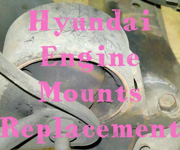 Replacing an Engine Mount (Hyundai Trajet)