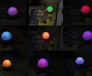 Magical Colour Copying Chameleon Lamp