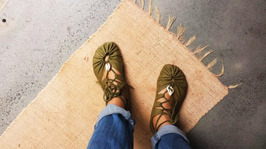 Easy Leather Sandals - Sun Sandals