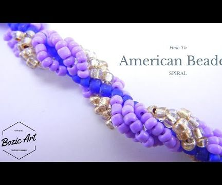 American Beaded Spiral | Beading Tutorial