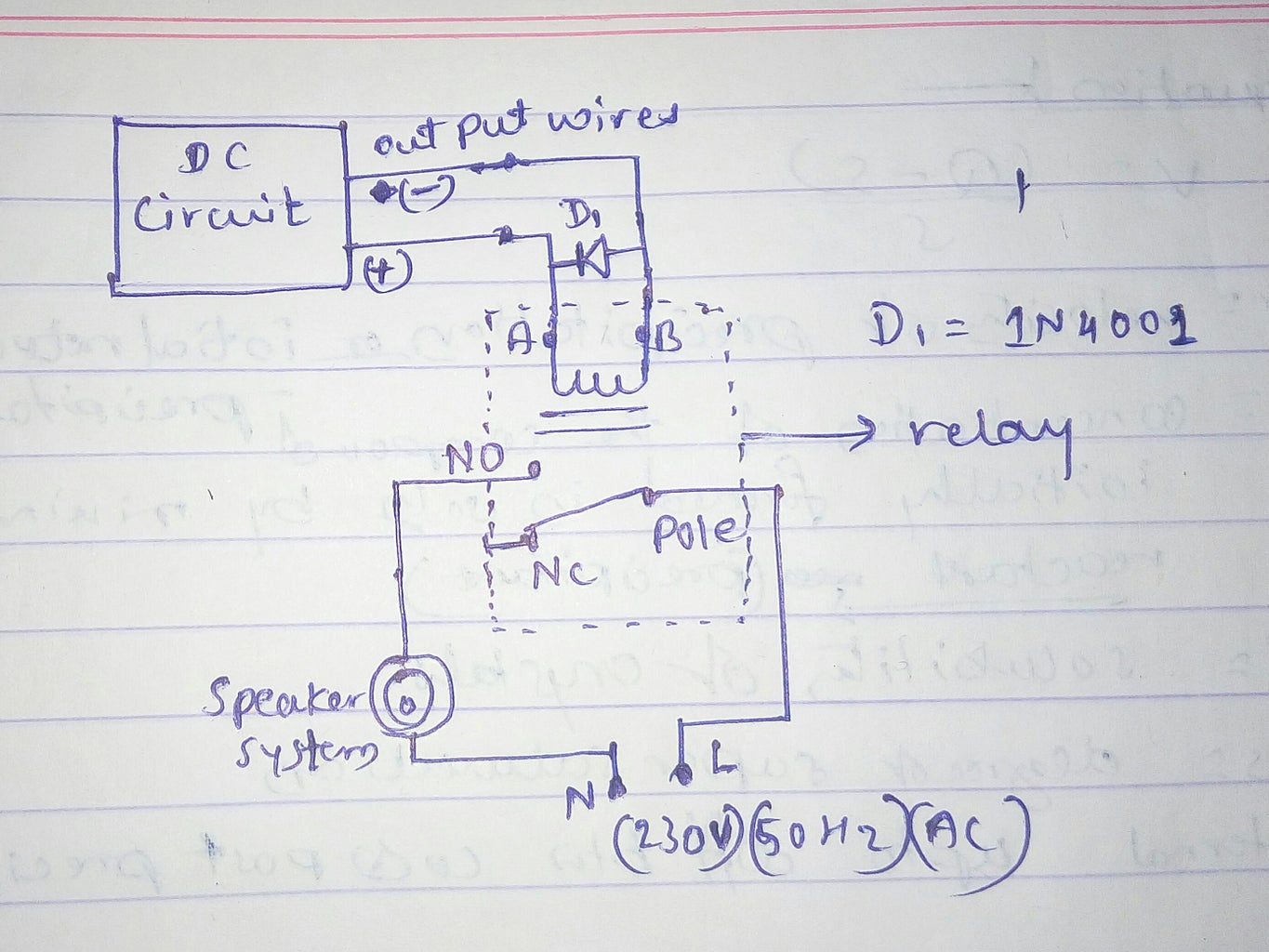 6) Connect the Circuit With Relay