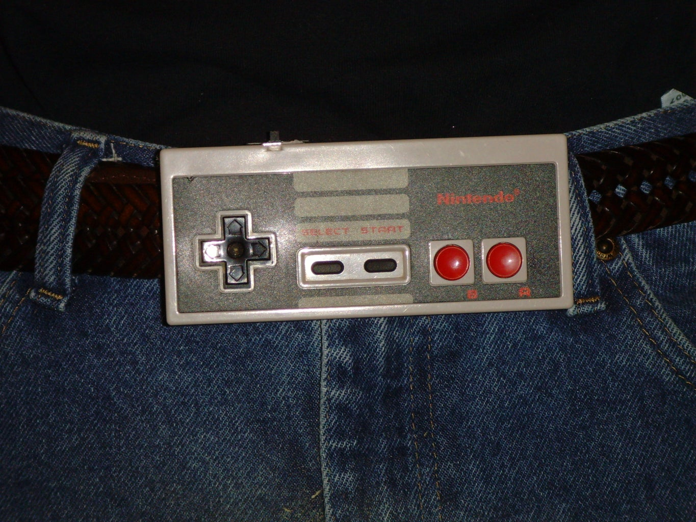 NES Controller Belt Buckle W/ Sound FX!