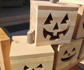 Box Jack-O-Lanterns