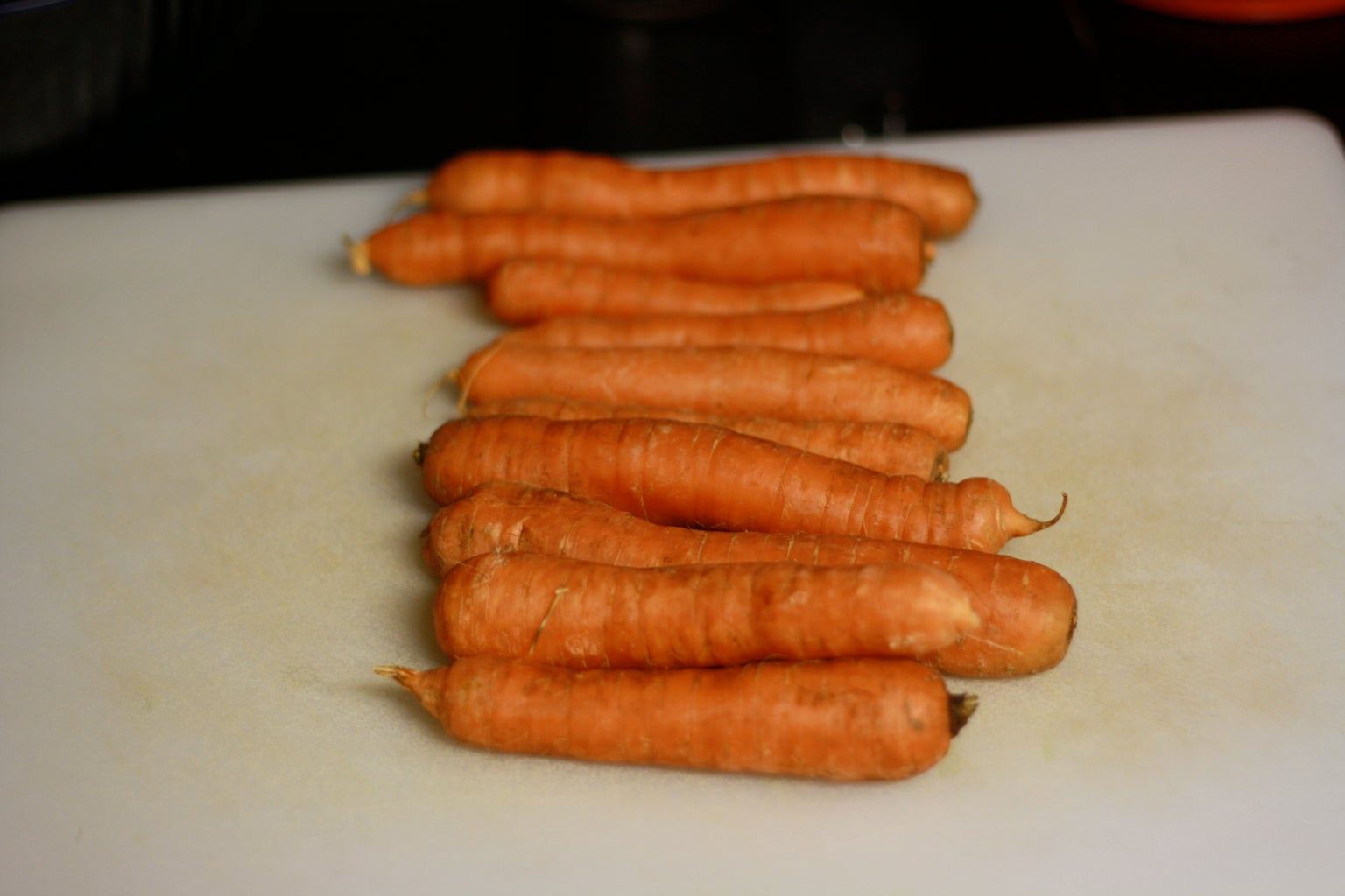 Wash, Peel, and Chop the Carrots
