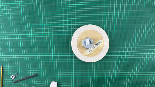 Attach Motor to Bottom Plate