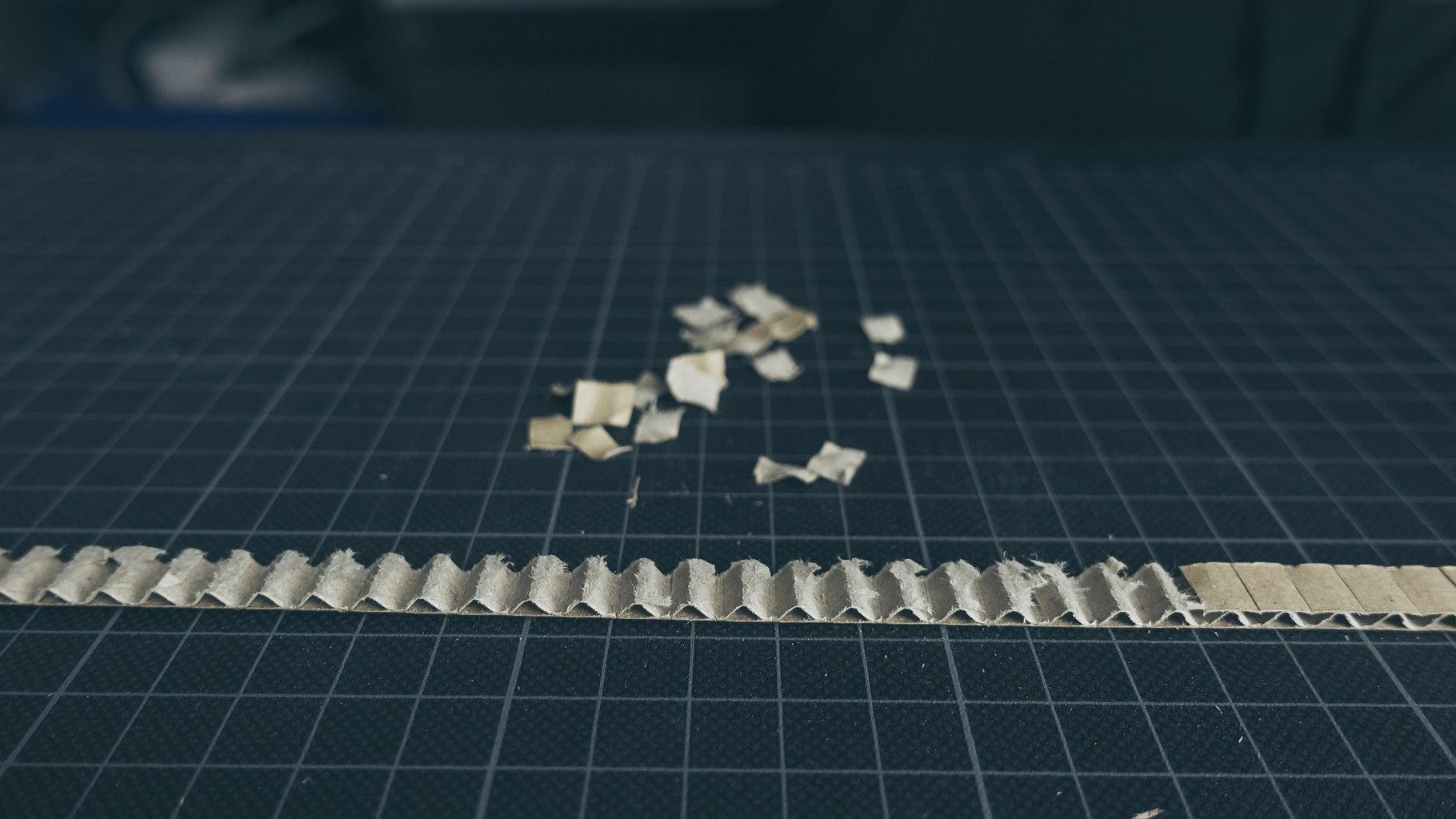 Cardboard Timing Belt
