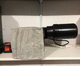 DIY Air Cleaner With Actvated Carbon Filter