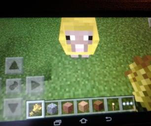 Mincraft Golden Sheep