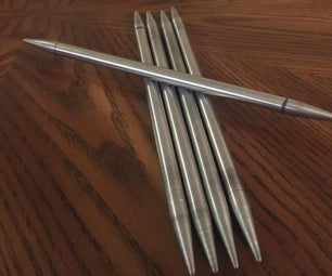 Large Metal Knitting Needles