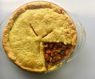 Chicken Curry Pot Pie