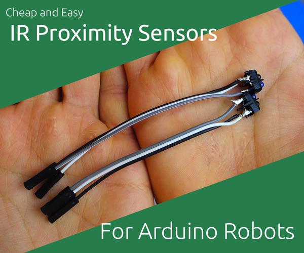 Cheap IR Proximity Sensors for Arduino Robots