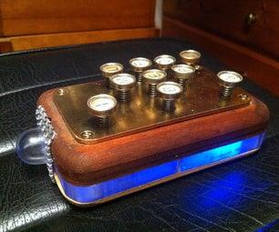 Steampunk Retro Remote Control (aka 'The Brick')