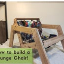 DIY Rustic Lounge Chair