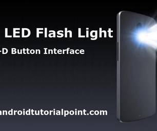 LED Flash Light Android Application
