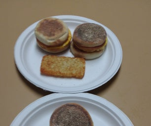 Brunch - Copycat Egg McMuffins Done in a Toaster Oven