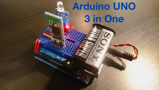 Arduino UNO 3 in One