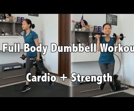Full Body Dumbbell Workout W/ Beginner Modification