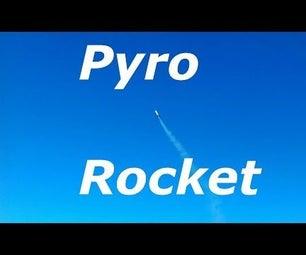 将水火火箭发射垫转化为百分之一的火箭火箭。