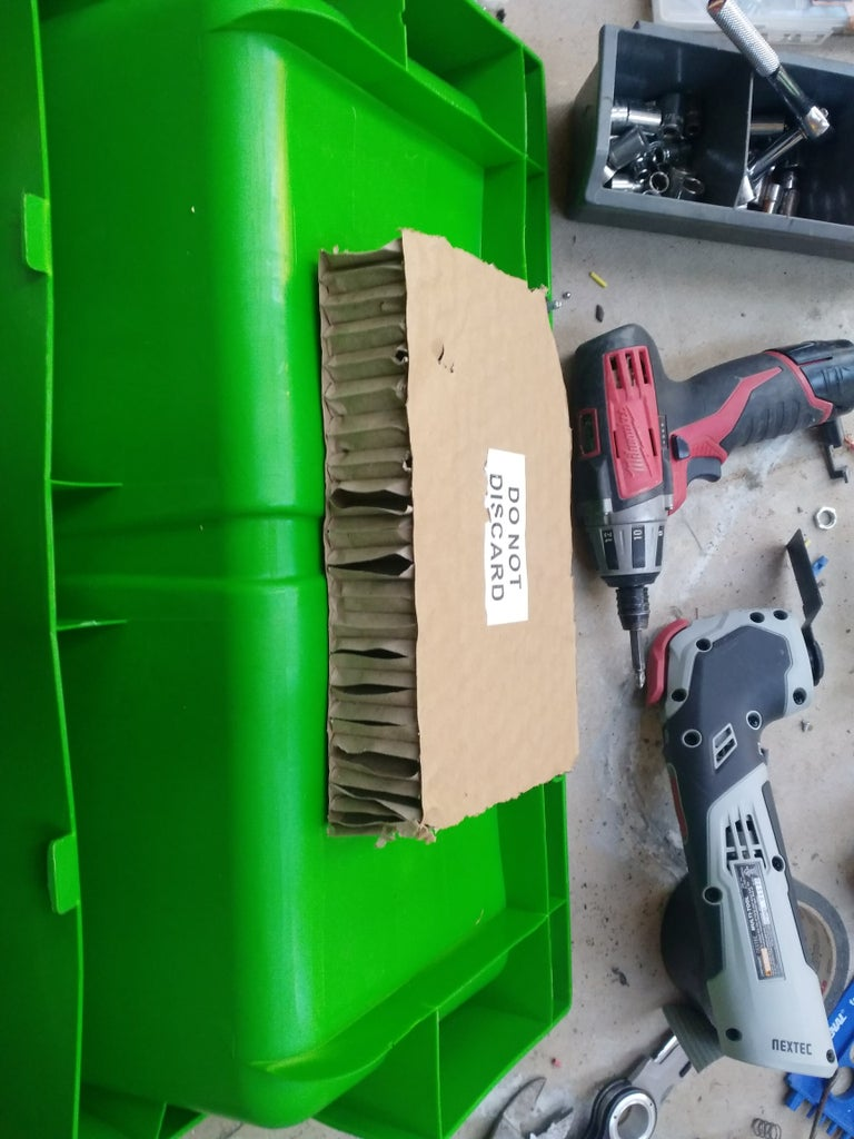 Trim Out the Stock Battery Pan